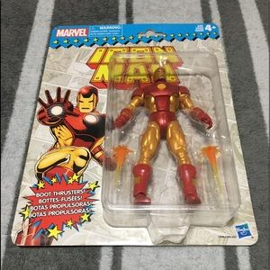 Marvel Legends Vintage RetroIron Man Action Figure